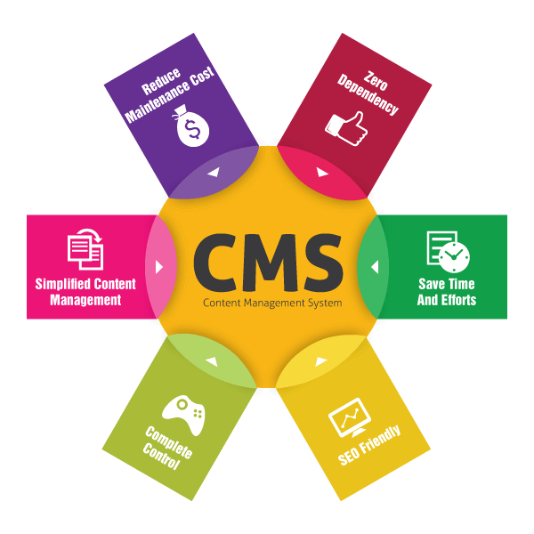 CMS Website Development India